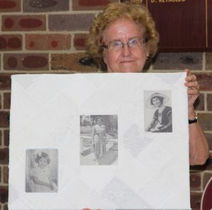 Rosemary Walker Memory quilt